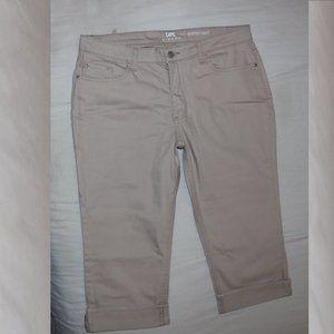 Lee Riders Midrise Capri Cropped Jeans w34x18.5